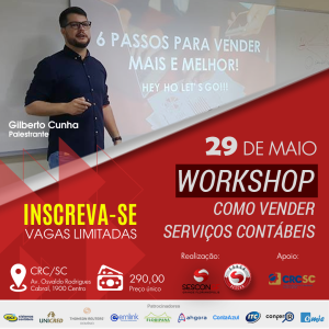 WORKSHOP - COMO VENDER SERVIÇOS CONTÁBEIS