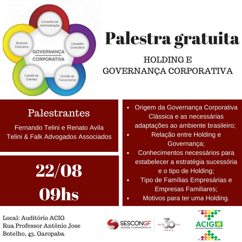 Palestra Holding - GAROPABA