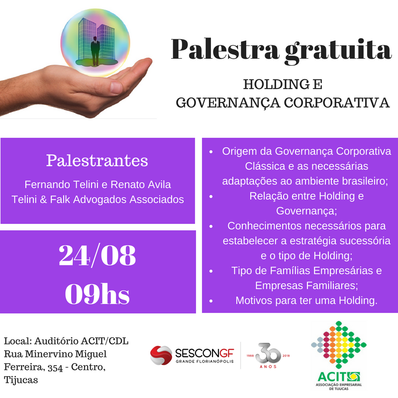 Palestra Holding - TIJUCAS
